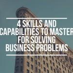 Four Skills to Master